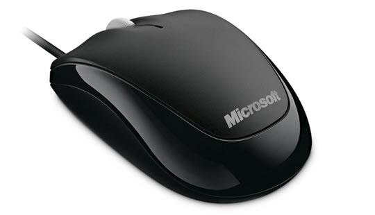 Mouse Microsoft 500 Óptico, USB, 800DPI, Negro