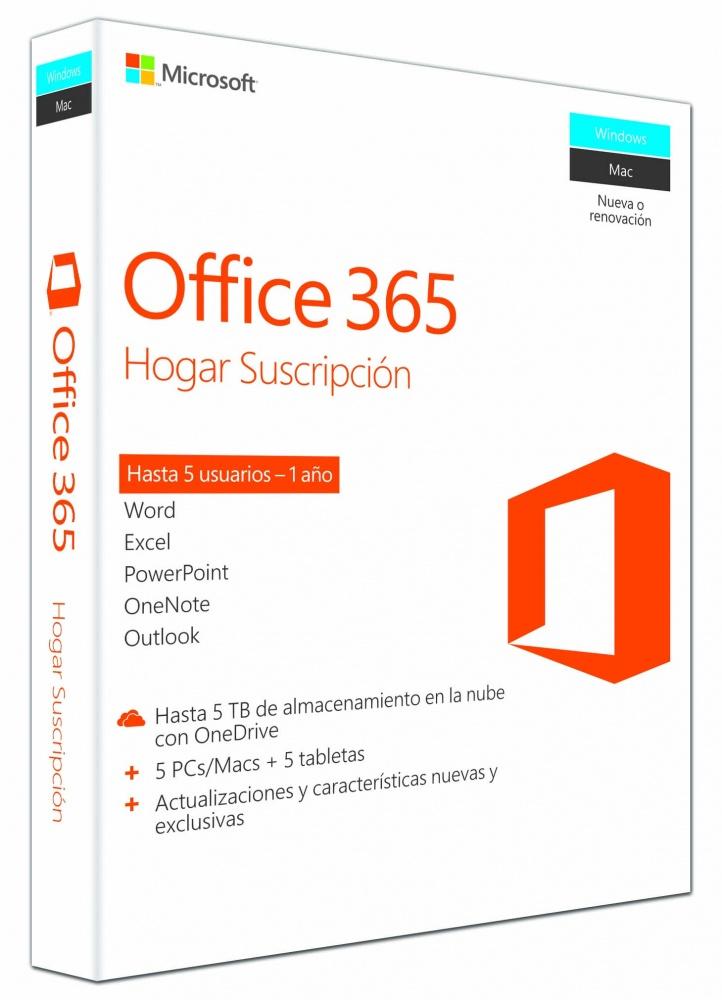 Opiniones sobre microsoft office 365 hogar premium espa ol for Modelo ta 6 0138 hogar