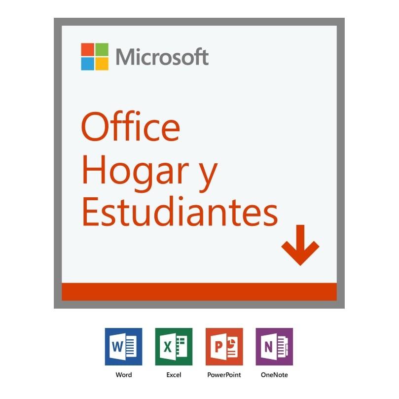 Microsoft Office Hogar y Estudiantes 2019, 1 PC, Plurilingüe, Windows/Mac ― Producto Digital Descargable
