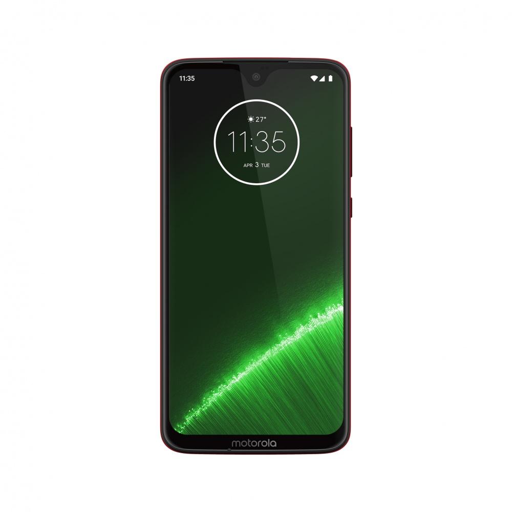 "Smartphone Motorola Moto G7 Plus 6.24"", 1080 x 2270 Pixeles, 64GB, 4GB RAM, 4G, Android 9.0, Rojo"