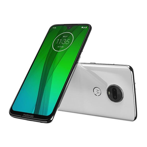 Smartphone Motorola Moto G7 6.2'', 2270 x 1080 Pixeles, 64GB, 4GB RAM, 3G/4G, Android 9.0, Blanco