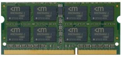 Memoria RAM Mushkin DDR3, 1333Mhz, 2GB, SO-DIMM, 1.5V