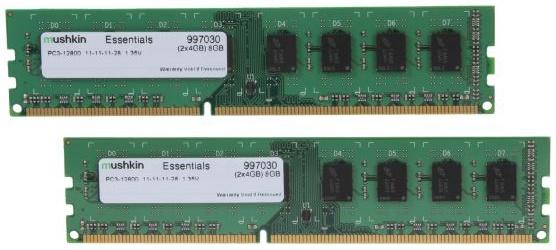Memoria RAM Mushkin DDR3, 1600Mhz, 8GB, CL11