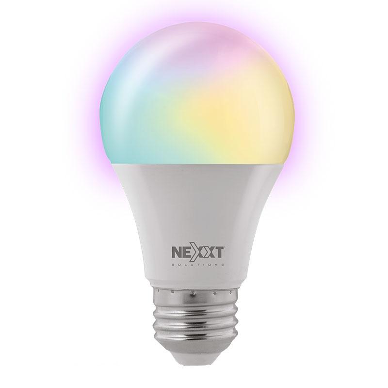 Nexxt Solutions Foco LED Inteligente NHB-C110, Wi-Fi, Multicolor, 9W, 2 Piezas