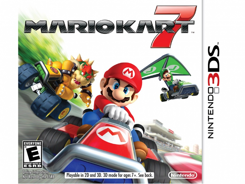Mario Kart 7, para Nintendo 3DS