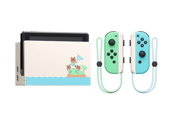 Nintendo Switch Animal Crossing: Horizons Edition, WiFi, Verde/Azul