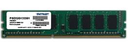 Memoria RAM Patriot DDR3, 1333MHz, 2GB, Non-ECC, CL9