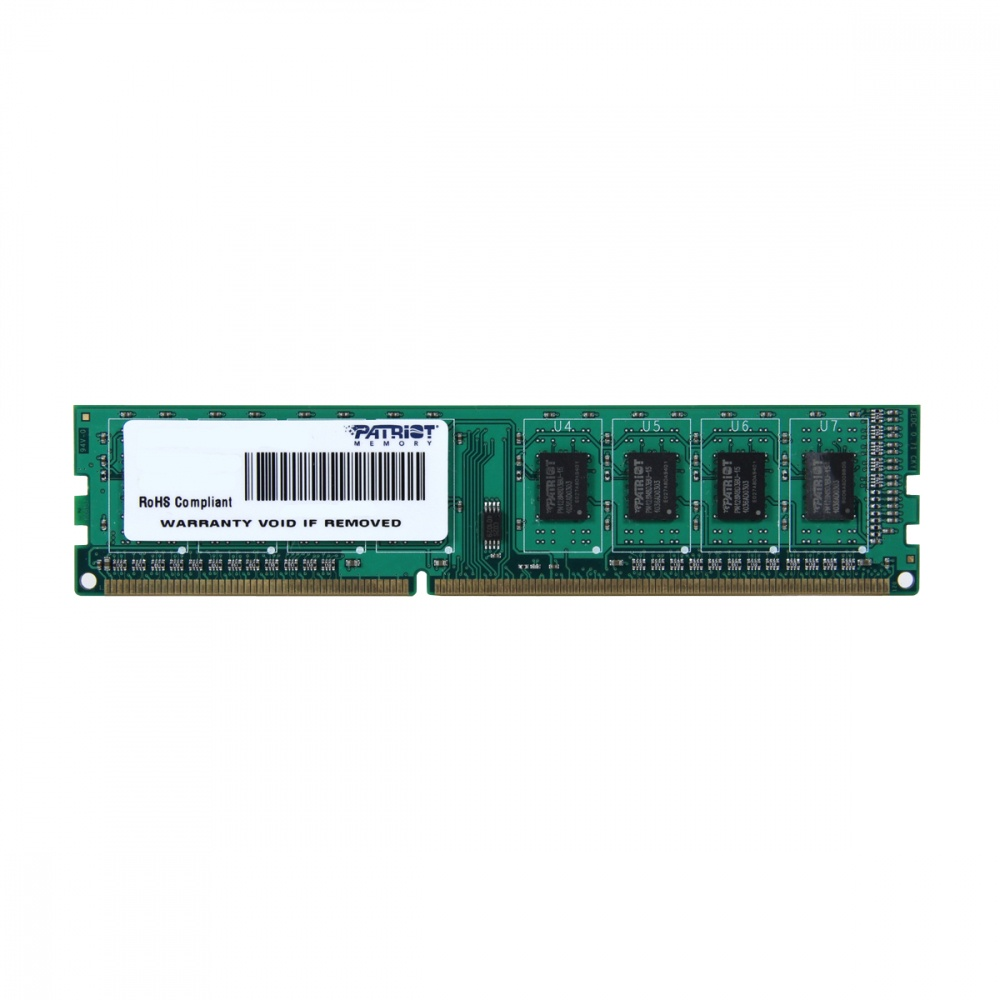 Memoria RAM Patriot Signature Line DDR3, 1600MHz, 4GB, Non-ECC, CL11 ― ¡Compra y participa para ganar Audífonos Gamer Viper V380 + Playera + Morral!