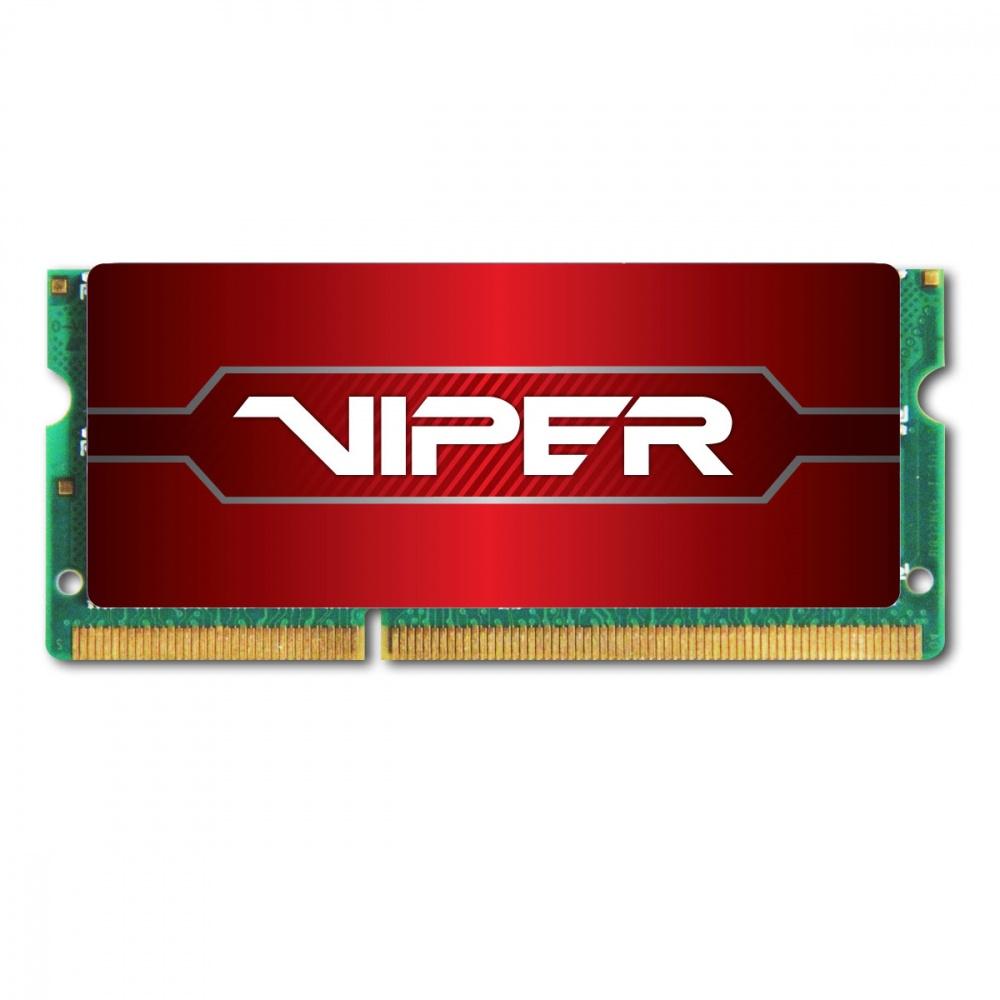 Memoria RAM Patriot Viper Series DDR4, 8GB, Non-ECC, SO-DIMM