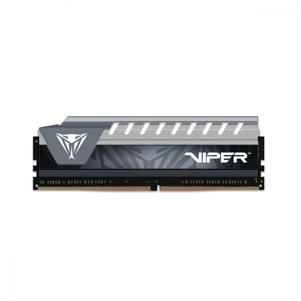 Memoria RAM Patriot Viper Elite Series Gray DDR4, 2666MHz, 32GB (2 x 16GB), Non-ECC, CL16, XMP