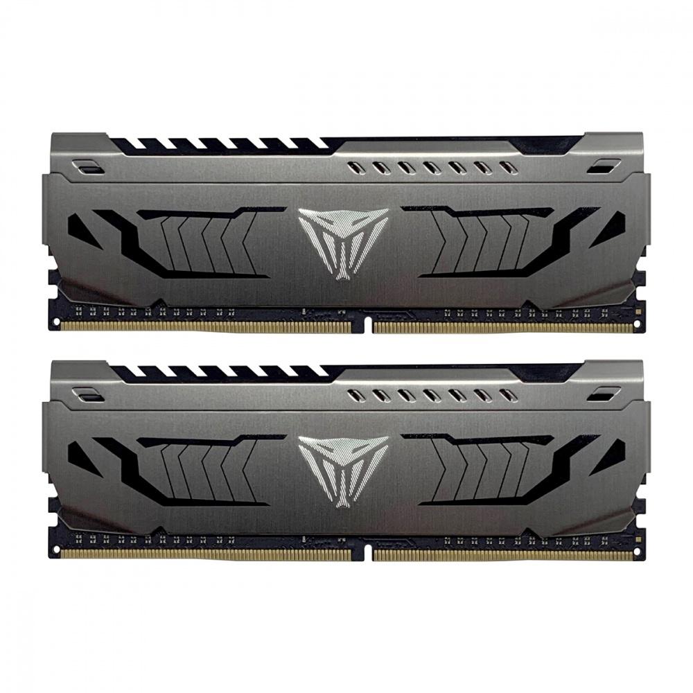 Kit Memoria RAM Patriot Viper Steel DDR4, 3000MHz, 16GB (2 x 8GB), Non-ECC, CL16