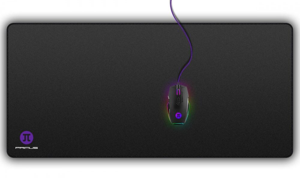 Mousepad Gamer Primus Arena XXL, 90 x 42cm, Grosor 3mm, Negro