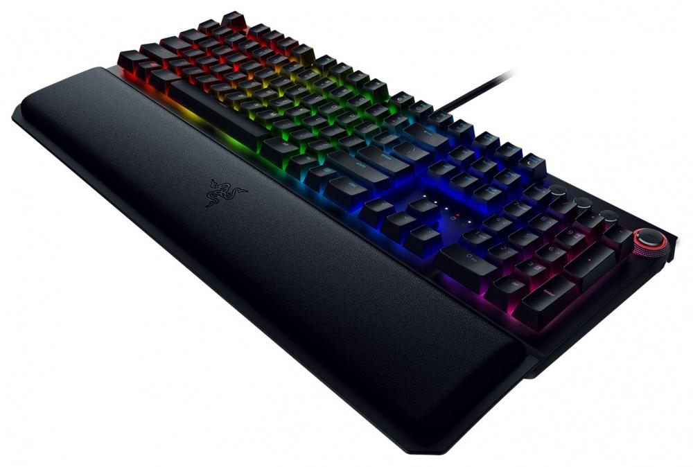 Teclado Gamer Razer BlackWidow Elite RGB, Teclado Mecánico, Green Switch,  Alámbrico, Negro (Español)