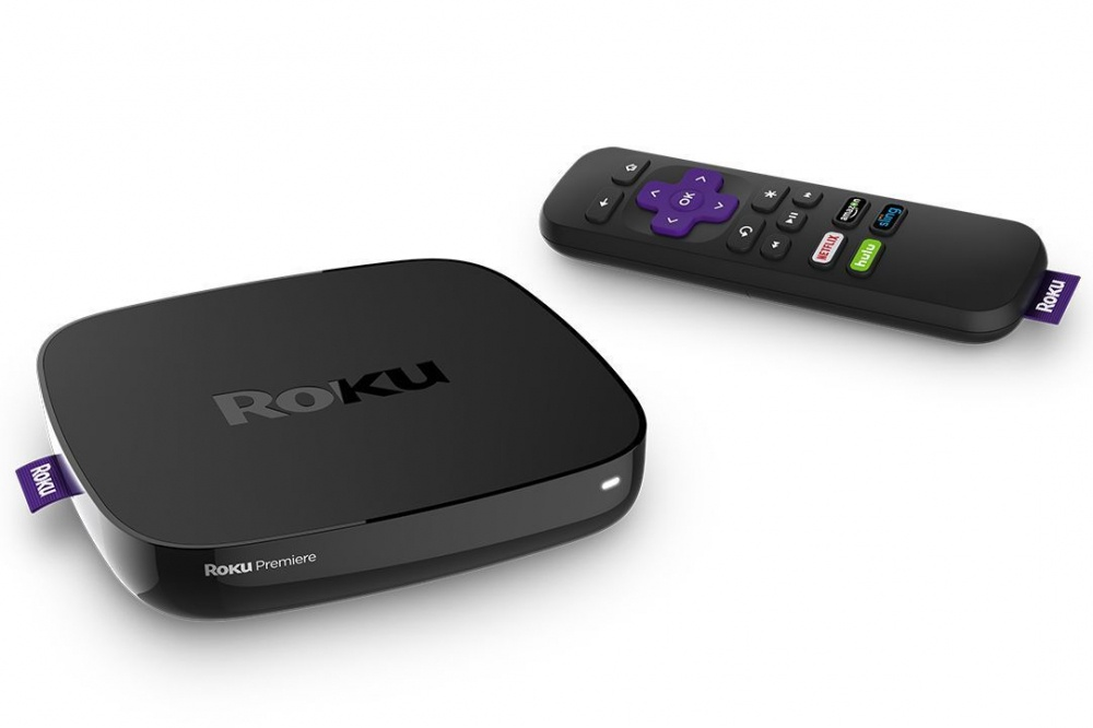 Roku Reproductor Multimedia Premiere, 4K Ultra HD, WiFi, HDMI