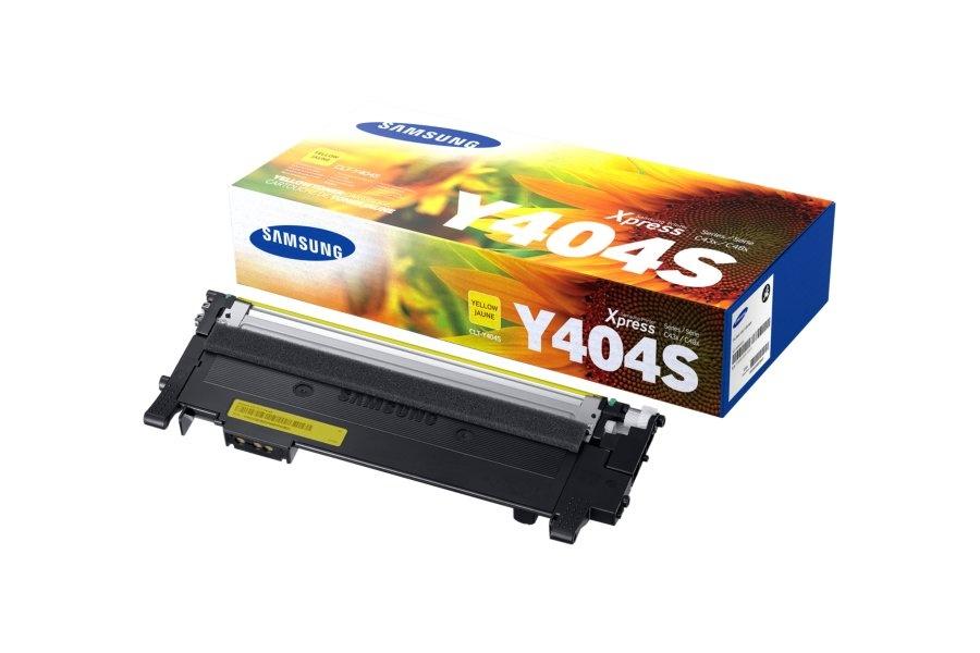 Tóner Samsung CLT-Y404S Amarillo, 1000 Páginas
