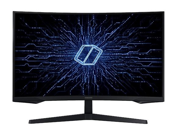 """Monitor Gamer Curvo Samsung Odyssey G5 LED 32"""", Quad HD, Widescreen, FreeSync, 144Hz, HDMI, Negro"""