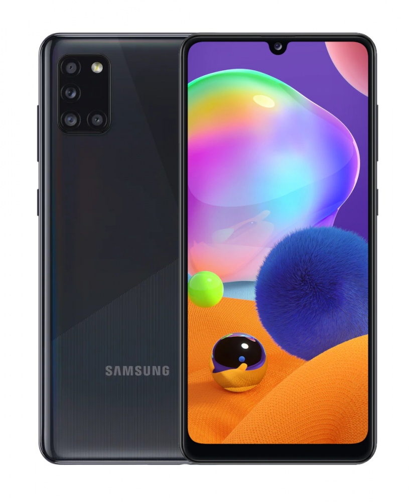 "Smartphone Samsung Galaxy A31 6.4"", 1080 x 2400 Pixeles, 128GB, 4GB RAM, 4G, Android, Negro"