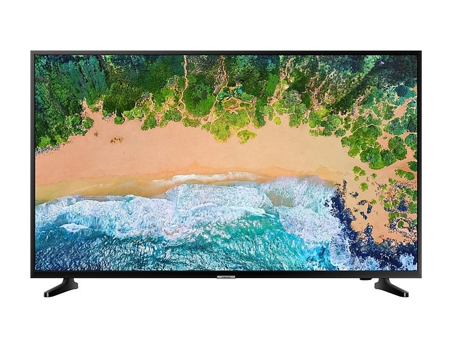 "Samsung Smart TV LED NU7090 55"", 4K Ultra HD, Widescreen, Negro"