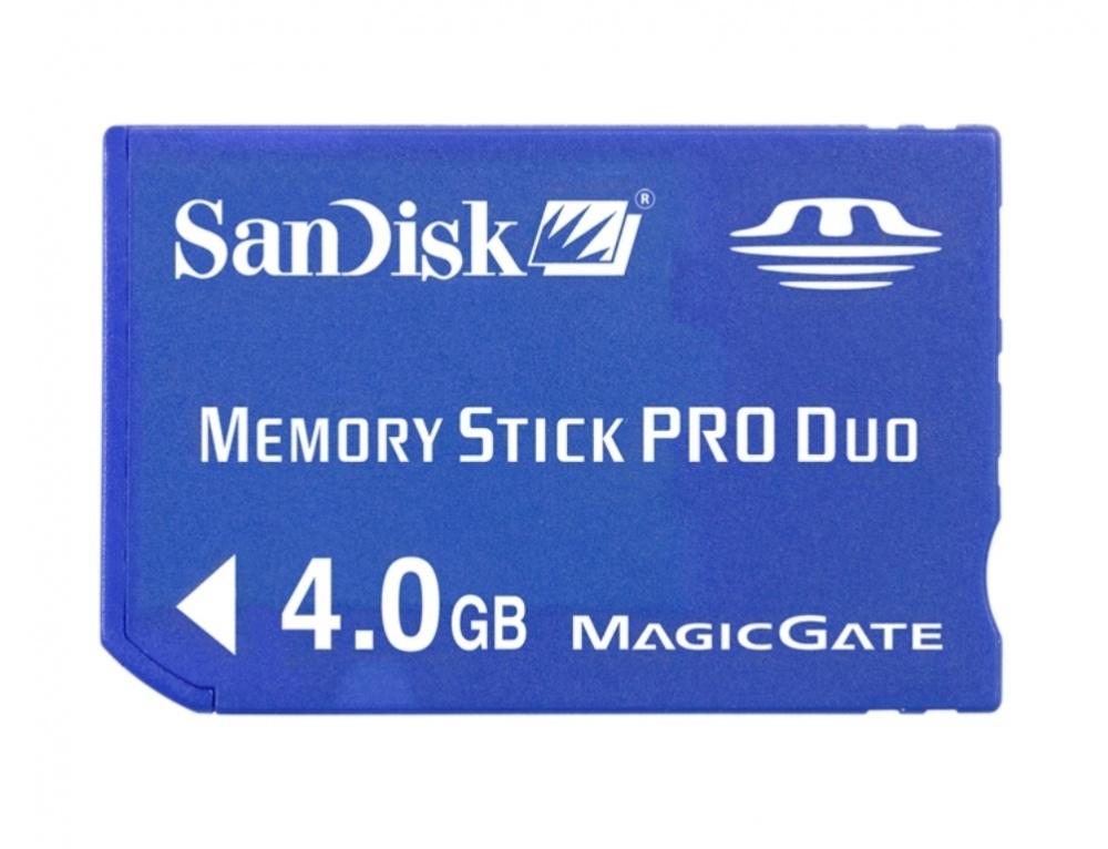 Memoria Flash SanDisk, 4GB Memory Stick Pro Duo