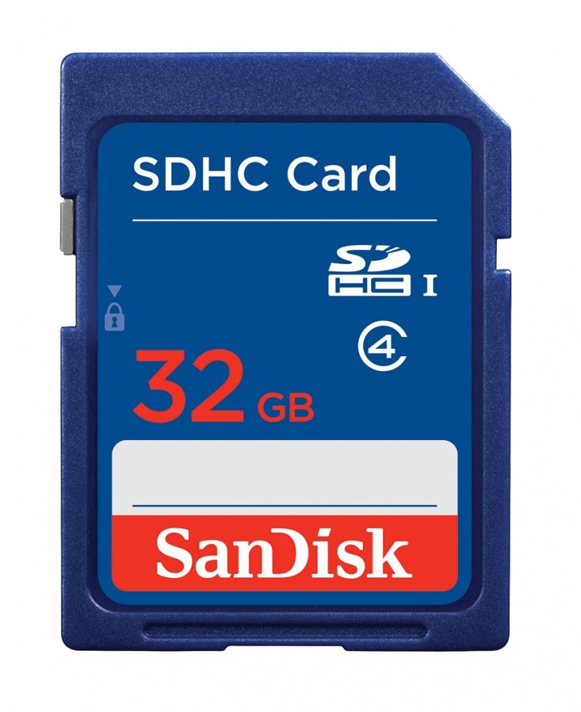 Memoria Flash SanDisk, 32GB SDHC Clase 2