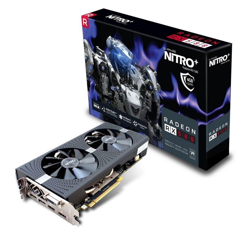 Tarjeta de Video Sapphire AMD Radeon RX 580 NITRO+, 4GB 256-bit GDDR5, PCI Express x16 2.0 - ¡Gratis 3 meses de Xbox Game Pass para PC! (un código por cliente) - ¡Compra y elige entre Borderlands 3 o Tom Clancys Ghost Recon Breakpoint!
