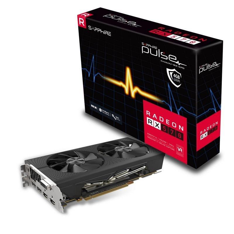 Tarjeta de Video Sapphire AMD Radeon RX 570 PULSE Dual, 4GB 256 bit GDDR5, PCI Express X16 - ¡Gratis 3 meses de Xbox Game Pass para PC! (un código por cliente) - ¡Compra y elige entre Borderlands 3 o Tom Clancys Ghost Recon Breakpoint!