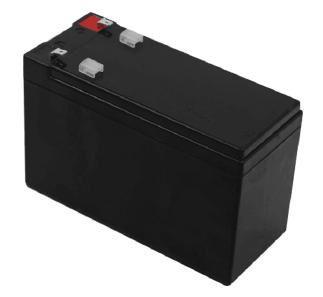 Saxxon Batería Externa para UPS CBAT7AH, 12V, 7Ah