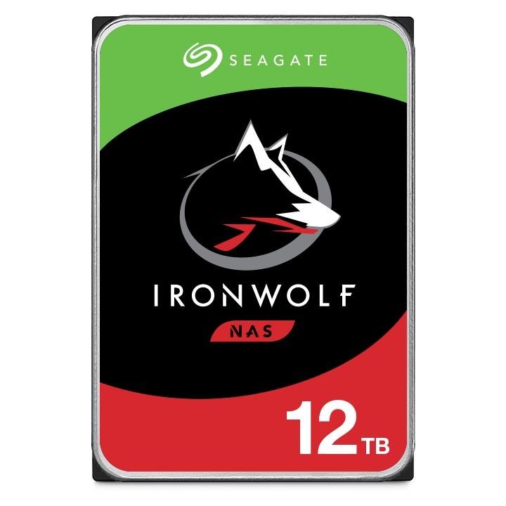 "Disco Duro para NAS Seagate IronWolf 3.5"" de 1 a 8 Bahías, 12TB, SATA III, 6Gbit/s, 7200RPM, 256MB Caché"