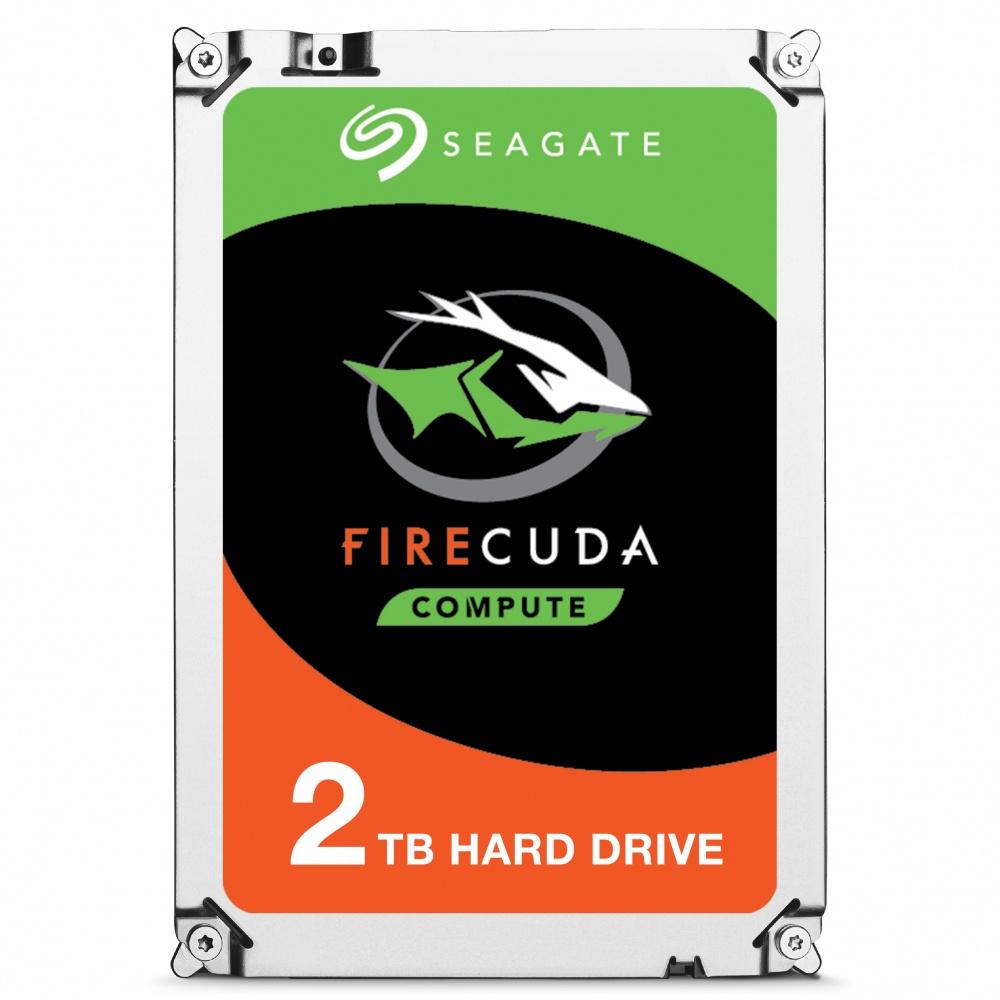 Disco Duro Interno Seagate FireCuda 3.5'', 2TB, SATA III, 6 Gbit/s, 7200RPM, 64MB Cache