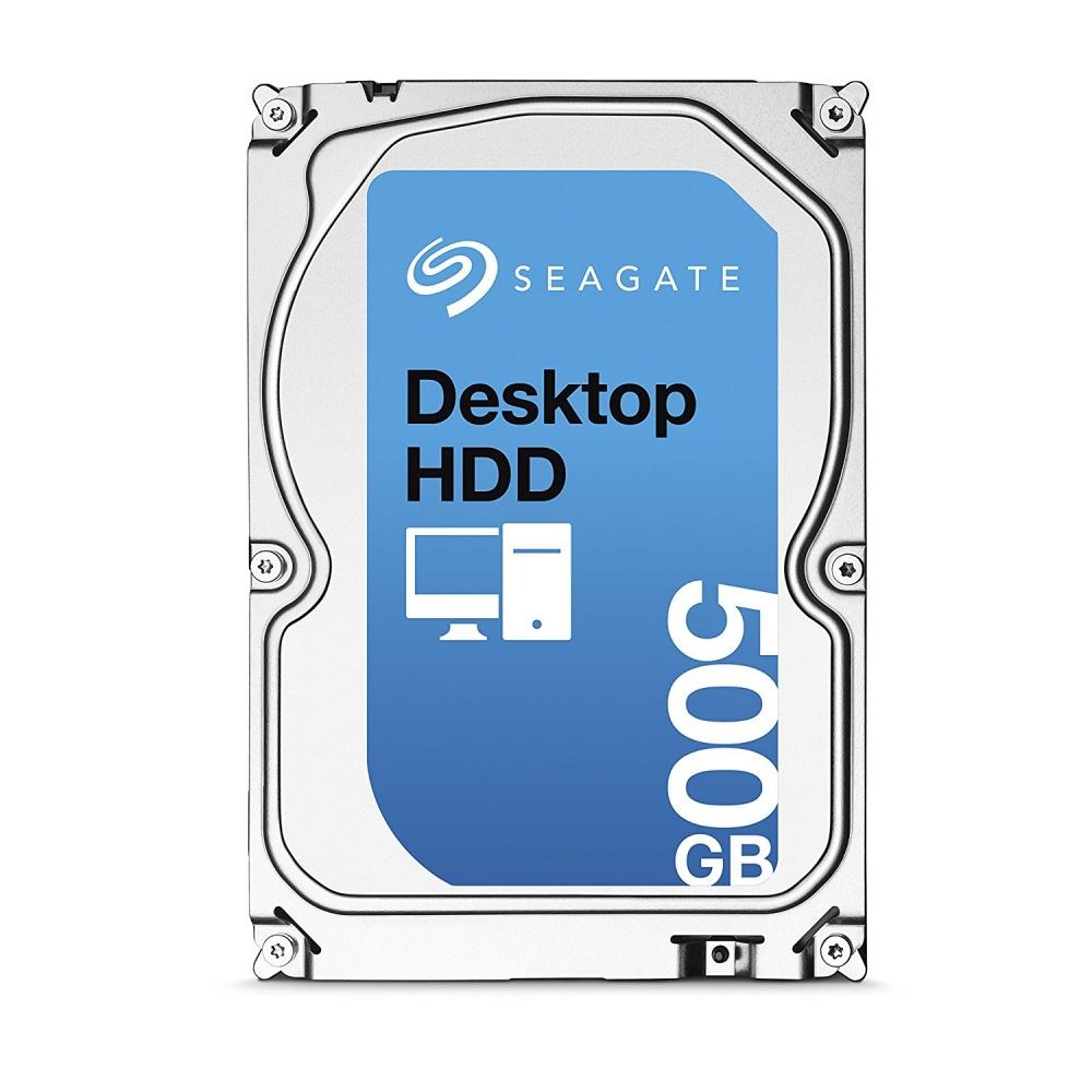 Disco Duro Interno Seagate Desktop HDD 3.5'', 500GB, SATA III, 6 Gbit/s, 7200RPM, 16MB Cache - Unidad Solamente
