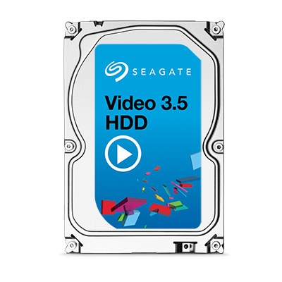 Disco Duro Interno Seagate Video 3.5'', 500GB, SATA III, 6 Gbit/s, 5900RPM, 64MB Cache