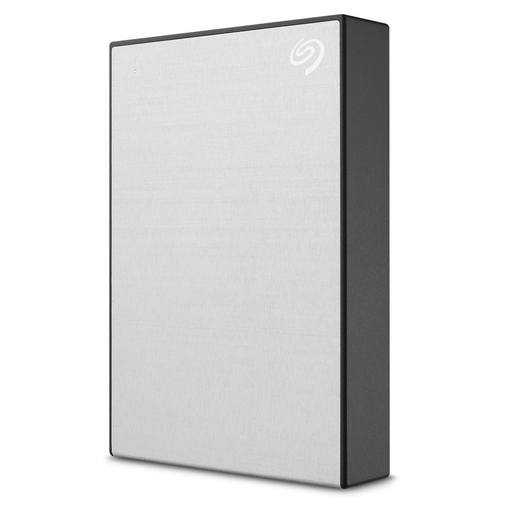 Disco Duro Externo Seagate Backup Plus Portable, 5TB, USB 3.0, Plata - para Mac/PC