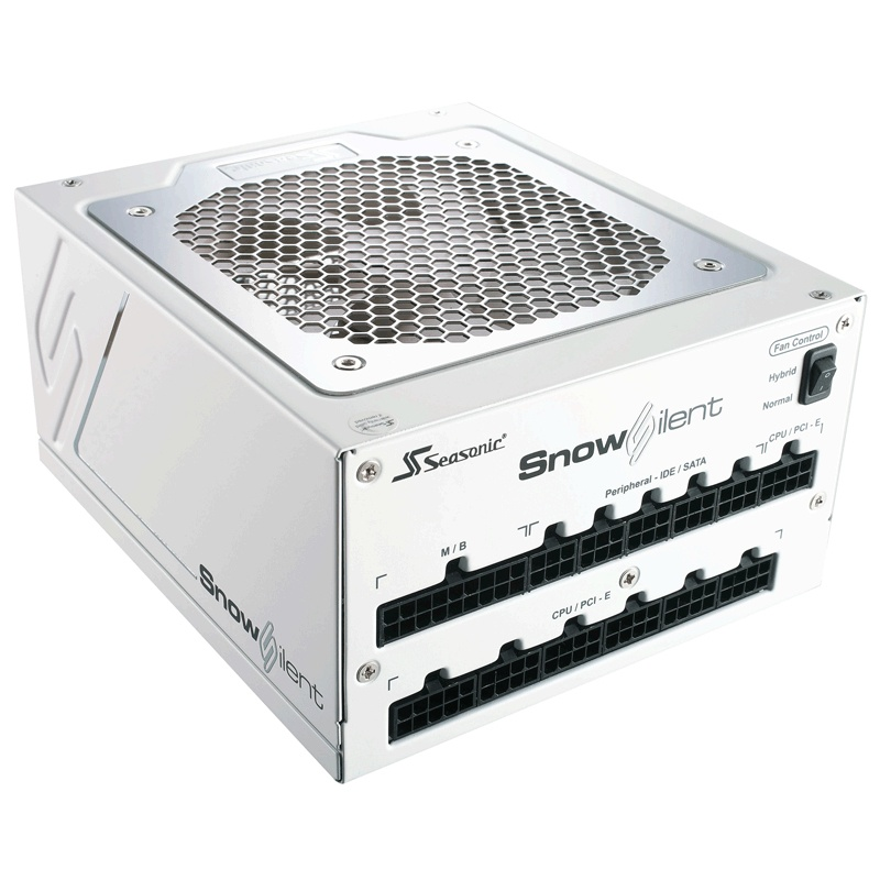 Fuente de Poder Seasonic Snow Silent 750 80 PLUS Platinum, ATX, 120mm, 750W