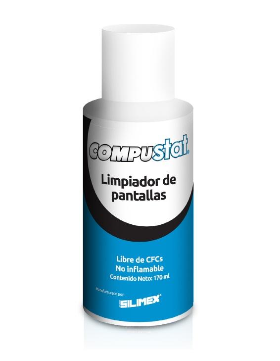 Silimex CompuStat Limpiador de Pantallas, 170ml