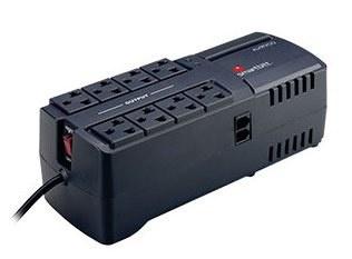 Regulador Smartbitt SBAVR2200, 1100W, 2200VA, 8 Salidas