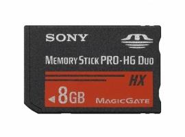 Memoria Flash Sony Memory Stick PRO-HG Duo HX, 8GB
