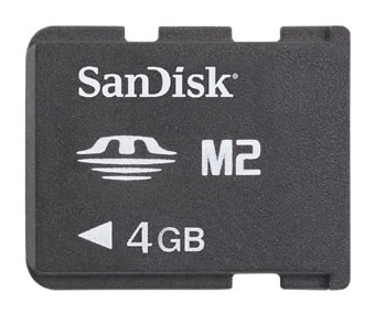 Memoria Flash Sony Memory Stick Micro (MS), 4GB