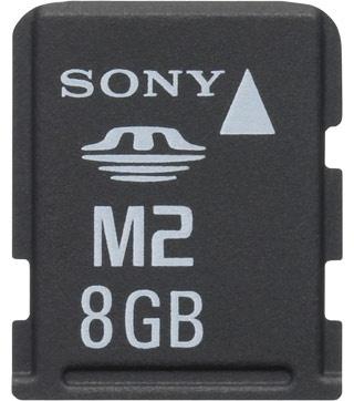 Memoria Flash Sony Memory Stick Micro (M2), 8GB