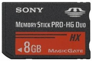 Memoria Flash Sony Memory Stick Pro-HG Duo, 8GB