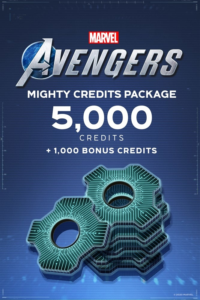 Marvel's Avengers: Mighty Credits Package, Xbox ― Producto Digital Descargable