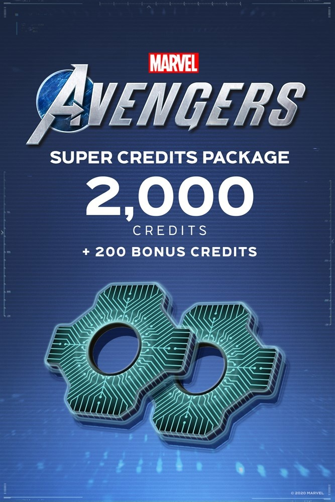 Marvel's Avengers: Super Credits Package, Xbox ― Producto Digital Descargable