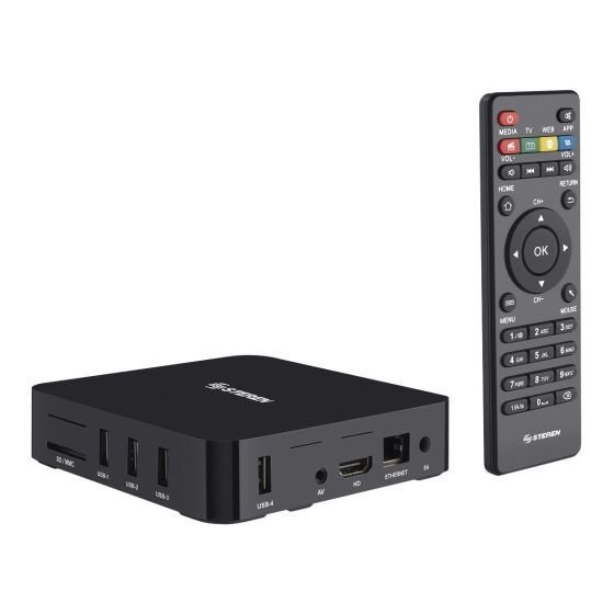Steren TV Box INTV-110, Android, 8GB, Full HD, WiFi, HDMI