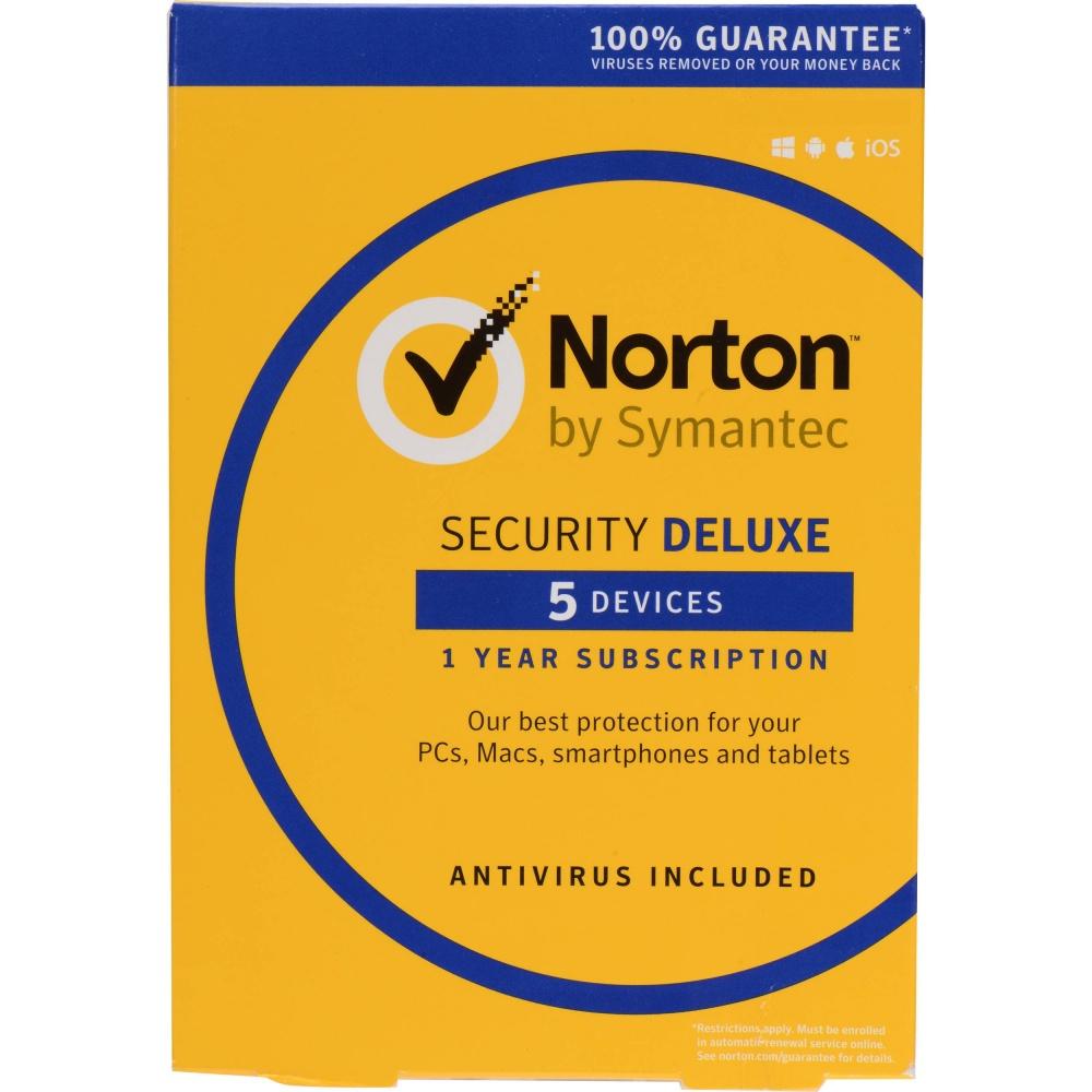 Norton LifeLock Security Plus Español, 5 Usuarios, 1 Año, Windows/Mac/Android/iOS