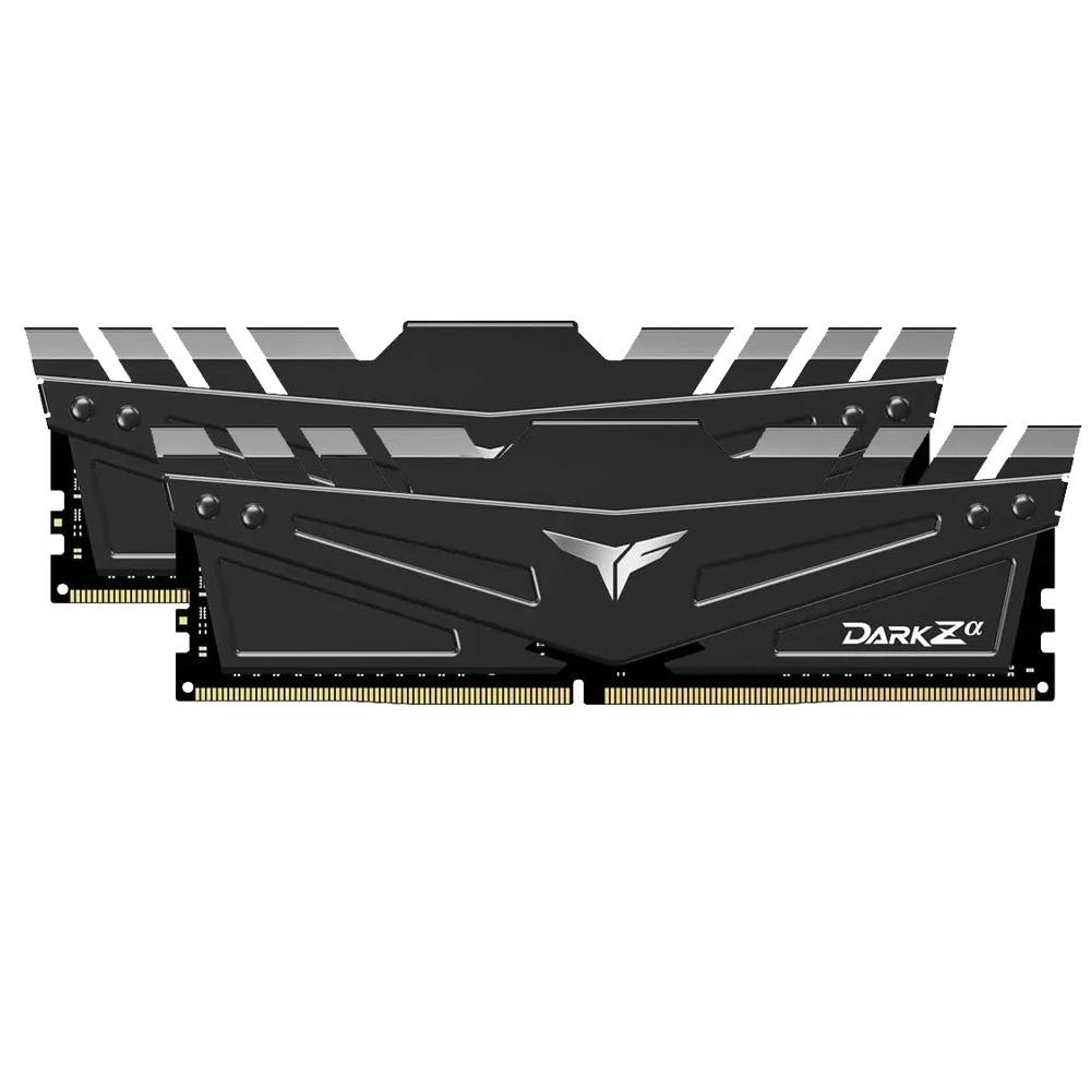 Kit Memoria RAM Team Group T-Force DARK Zα DDR4, 3200MHz, 16GB (2x 8GB), Non-ECC, CL16