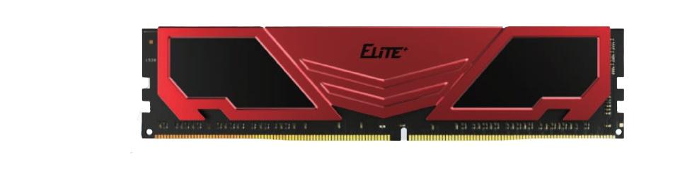 Memoria RAM Team Group ELITE PLUS Red DDR4, 3200MHz, 8GB, Non-ECC, CL22