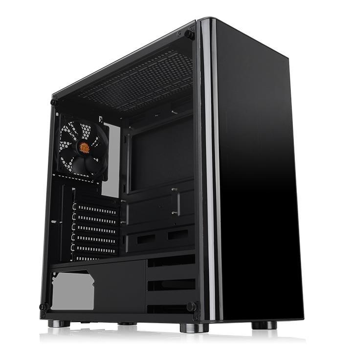Gabinete Thermaltake V200 con Ventana, Midi-Tower, ATX/Micro-ATX/Mini-ATX, USB 3.0, sin Fuente, Negro