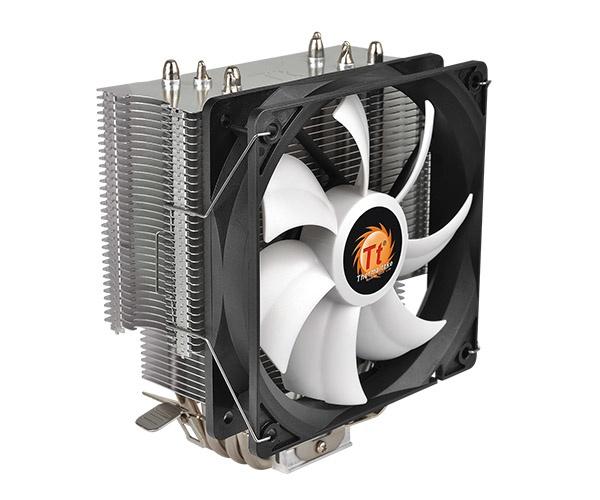 Disipador CPU Thermaltake Contact Silent 12, 120mm, 400-1500RPM, Gris