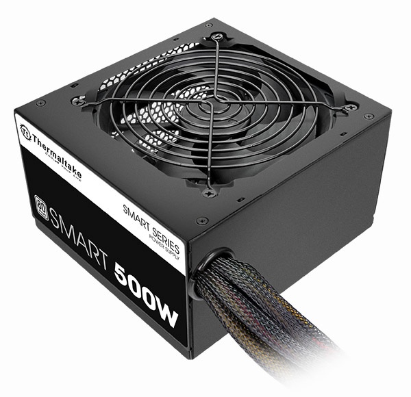 Fuente de Poder Thermaltake SMART 500W, ATX, 120mm, 500W