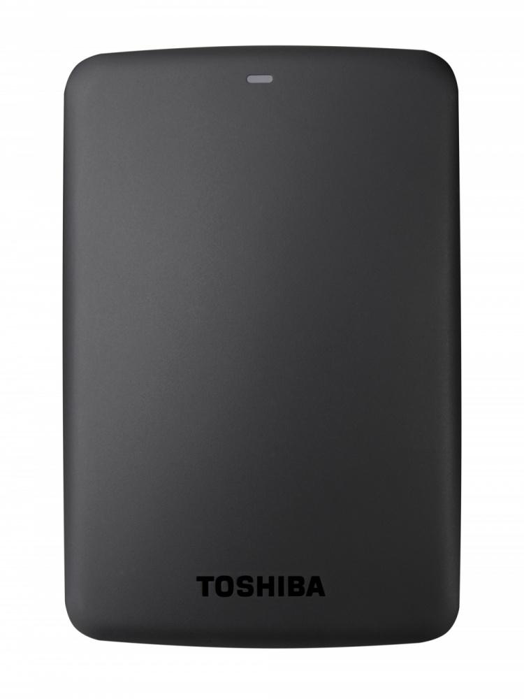Disco Duro Externo Toshiba Canvio Basics Portátil, 1TB, USB 3.0, 5400RPM, Negro
