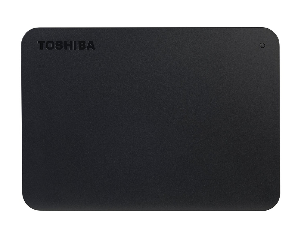Disco Duro Externo Toshiba Canvio Basics, 2.5'', 2TB, USB 3.0, Negro